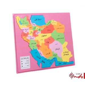 بازی پازل نقشه ایران فومی چیچینک