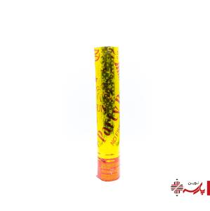 استوانه شادی 30 سانت طلایی