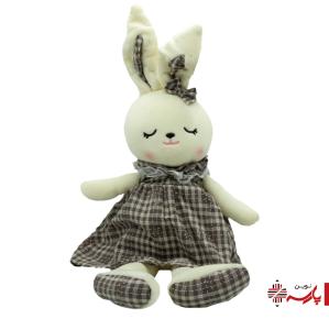 عروسک پولیشی خرگوش لباس 4 خونه