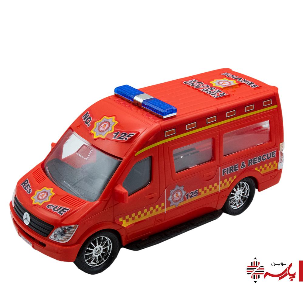 ماشین آمبولانس 1020 درج