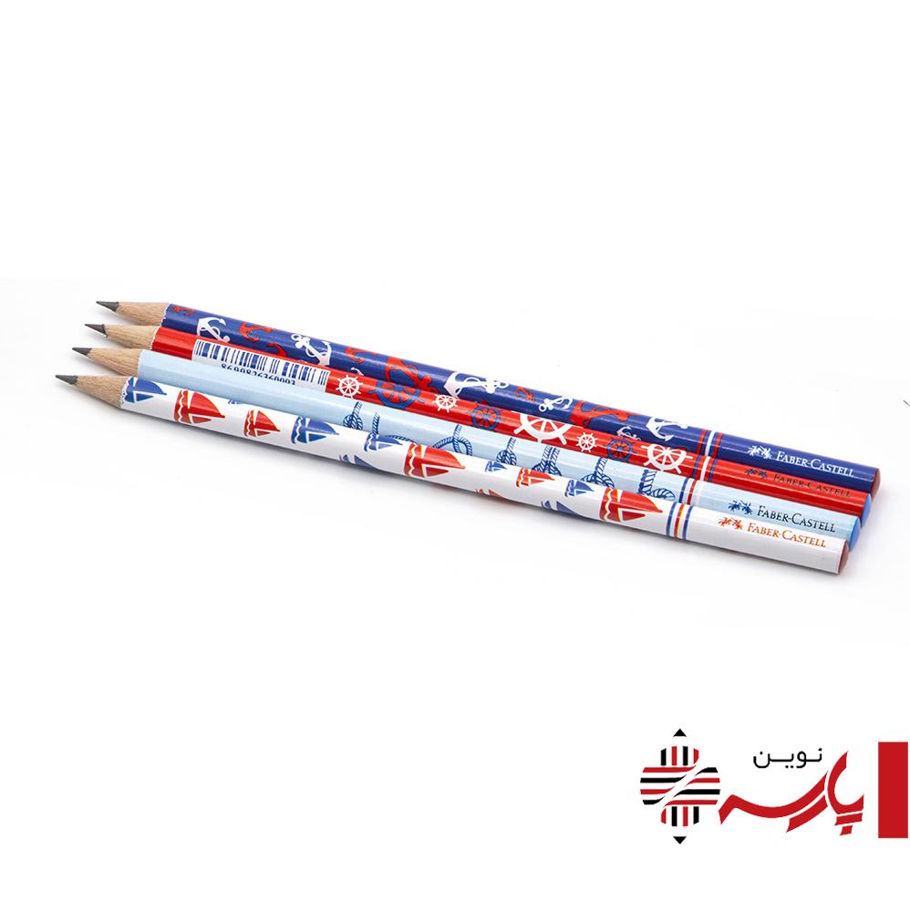 مداد مشکی طرح دریایی فابرکاستل