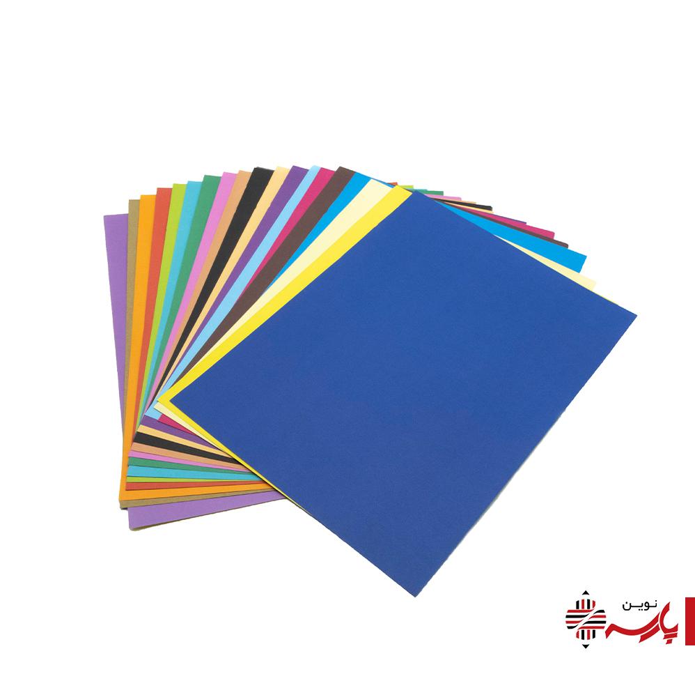 کاغذ رنگی دو رو (اوریگامی) 20 عددی A4 رنگدونه